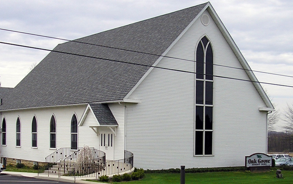 history of oak grove mennonite church